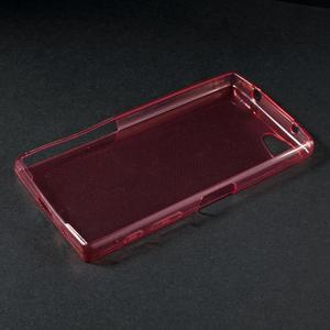 Ultratenký slim gelový obal na Sony Xperia Z5 Compact - červený - 3