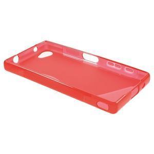 S-line gelový obal na Sony Xperia Z5 Compact - červený - 3