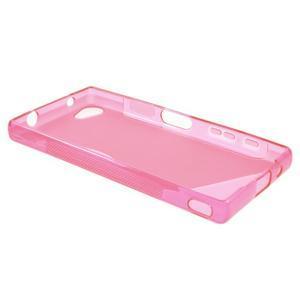 S-line gelový obal na Sony Xperia Z5 Compact - rose - 3