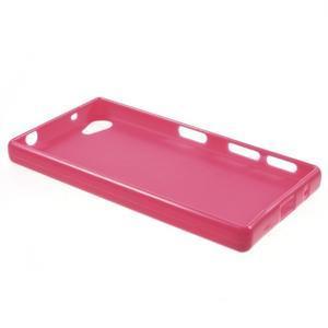 Solid lesklý gelový obal na mobi Sony Xperia Z5 Compact - rose - 3