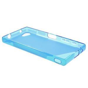 S-line gelový obal na Sony Xperia Z5 Compact - modrý - 3