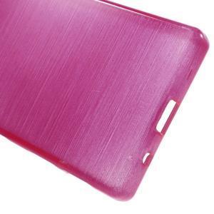 Brush gelový obal na Sony Xperia Z5 Compact - rose - 3