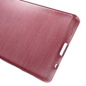Brush gelový obal na Sony Xperia Z5 Compact - růžový - 3