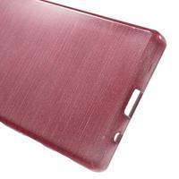 Brush gelový obal na Sony Xperia Z5 Compact - růžový - 3/5