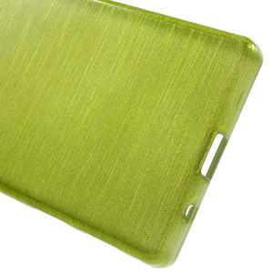 Brush gelový obal na Sony Xperia Z5 Compact - zelený - 3