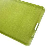 Brush gelový obal na Sony Xperia Z5 Compact - zelený - 3/6
