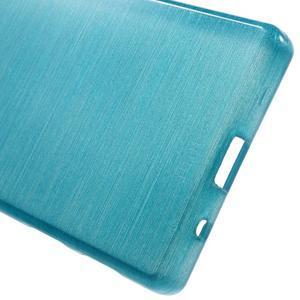 Brush gelový obal na Sony Xperia Z5 Compact - modrý - 3