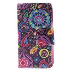 Diary peněženkové pouzdro na Sony Xperia Z5 Compact - flower - 3