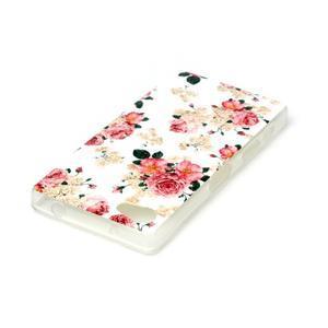 Sally gelový obal na Sony Xperia Z5 Compact - květiny - 3