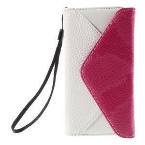 Stylové peněženkové pouzdro na Sony Xperia Z5 Compact - rose - 3