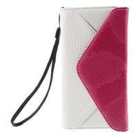Stylové peněženkové pouzdro na Sony Xperia Z5 Compact - rose - 3/7
