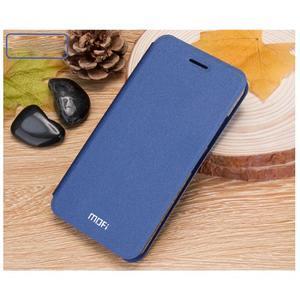 Klopové PU kožené pouzdro na Xiaomi Mi5 - modré - 3
