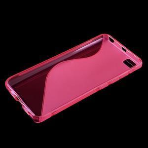 S-line gelový obal na mobil Xiaomi Mi5 - rose - 3