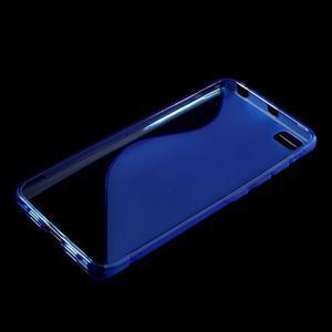 S-line gelový obal na mobil Xiaomi Mi5 - modrý - 3