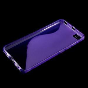 S-line gelový obal na mobil Xiaomi Mi5 - fialový - 3