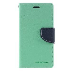 Diary PU kožené pouzdro na mobil Xiaomi Redmi 3 - azurové - 3