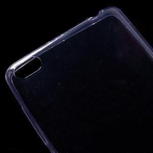 Ultratenký slim gelový obal na mobil Xiaomi Redmi 3 Pro - fialový - 3
