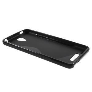 S-line gelový obal na mobil Xiaomi Redmi Note 2 - černý - 3
