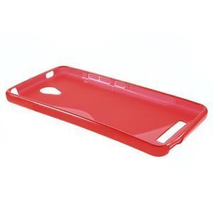 S-line gelový obal na mobil Xiaomi Redmi Note 2 - červený - 3