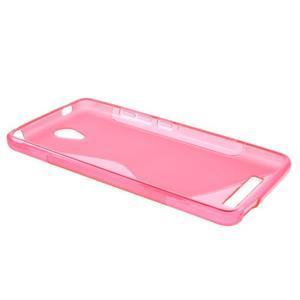 S-line gelový obal na mobil Xiaomi Redmi Note 2 - rose - 3