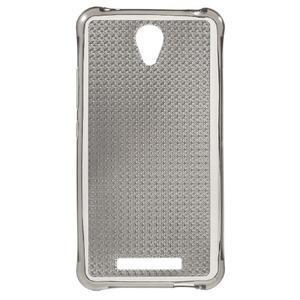 Diamonds gelový obal na Xiaomi Redmi Note 2 - šedý - 3
