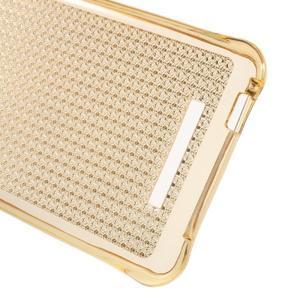 Diamonds gelový obal na Xiaomi Redmi Note 2 - zlatý - 3