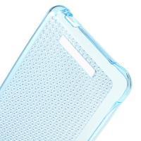 Diamonds gelový obal na Xiaomi Redmi Note 2 - modrý - 3/5