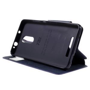 Diary pouzdro s okýnkem na mobil Xiaomi Redmi Note 3  - fialové - 3