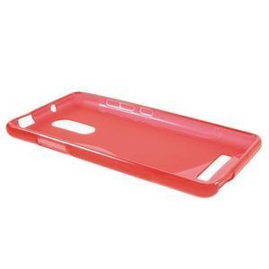 S-line gelový obal na Xiaomi Redmi Note 3 - červený - 3