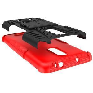 Outdoor odolný kryt na Xiaomi Redmi Note 3 - červený - 3