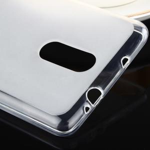 Matný gelový obal na Xiaomi Redmi Note 3 - bílý - 3