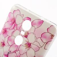 Softy gelový obal na Xiaomi Redmi Note 3 - květy švestky - 3/6