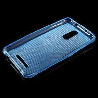 Diamonds gelový obal na Xiaomi Redmi Note 3 - modrý - 3/5