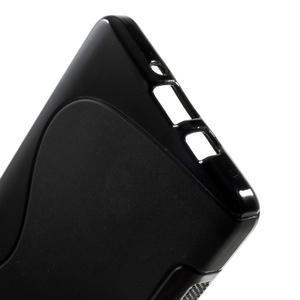 Gelové s-line pouzdro na Samsung Galaxy A3 - černé - 3