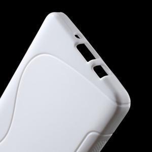 Gelové s-line pouzdro na Samsung Galaxy A3 - bílé - 3