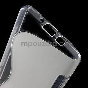 Gelové s-line pouzdro na Samsung Galaxy A3 - transparentní - 3