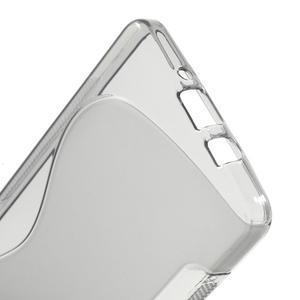 Gelové s-line pouzdro na Samsung Galaxy A3 - šedá - 3