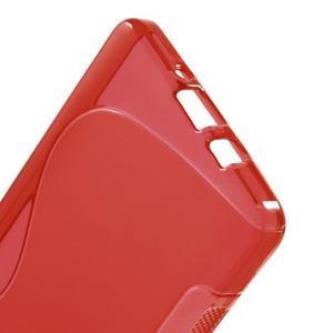 Gelové s-line pouzdro na Samsung Galaxy A3 - červená - 3