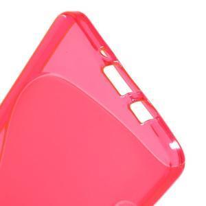 Gelové s-line pouzdro na Samsung Galaxy A3 - růžová - 3