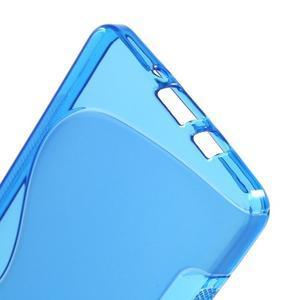Gelové s-line pouzdro na Samsung Galaxy A3 - modrá - 3