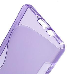 Gelové s-line pouzdro na Samsung Galaxy A5 - fialové - 3