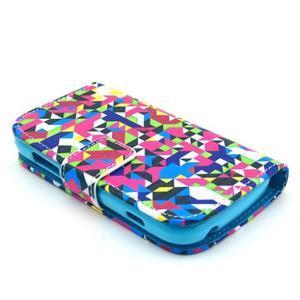 Safety pouzdro pro Samsung Galaxy S Duos/Trend Plus - mozaika barev - 3