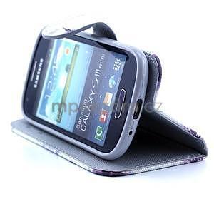 Peněženkové pouzdro na Samsung Galaxy S3 mini - Eiffelova věž - 3