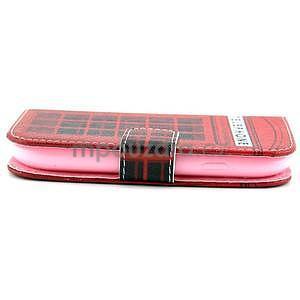 Peněženkové pouzdro na Samsung Galaxy S3 mini - telefonní budka - 3