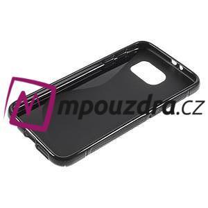 Gelové s-line pouzdro na Samsung Galaxy S6 - černé - 3
