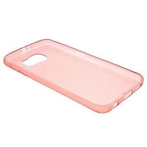 Slimové pouzdro na Samsung Galaxy S6 - červené - 3