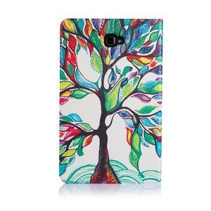 Picture polohovatelné pouzdro na Samsung Galaxy Tab A 10.1 (2016) - strom - 3