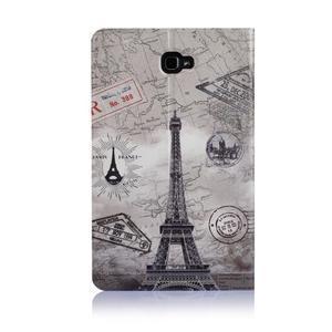 Picture polohovatelné pouzdro na Samsung Galaxy Tab A 10.1 (2016) - Eiffelka - 3