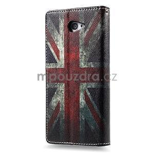 Peněženkové pouzdro na mobil Sony Xperia M2 - UK vlajka - 3