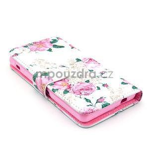 Pouzdro na mobil Sony Xperia Z1 Compact - květiny - 3